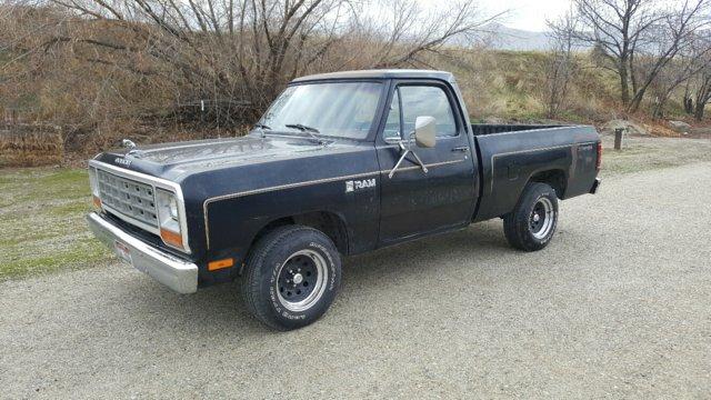 FOR SALE - 1982 Dodge Ram SB 2wd..Super 6..4spdOD..Black | For ...